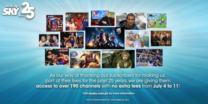 SKY Celebrates 25th Year