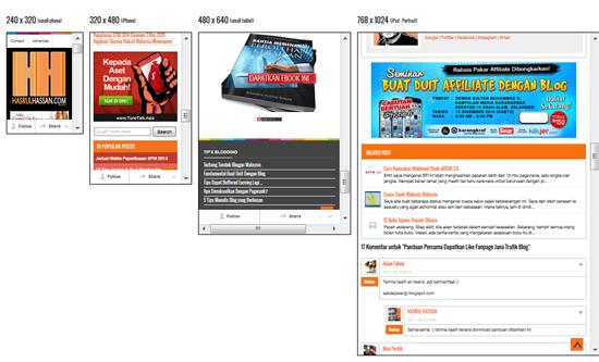 Blog mesra SEO dan mesra peranti mudah alih mobile-friendly