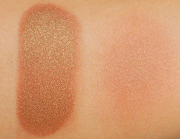 the balm betty-lou manizer swatches