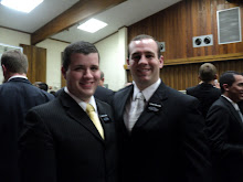 Elder Preator and Elder Holcombe