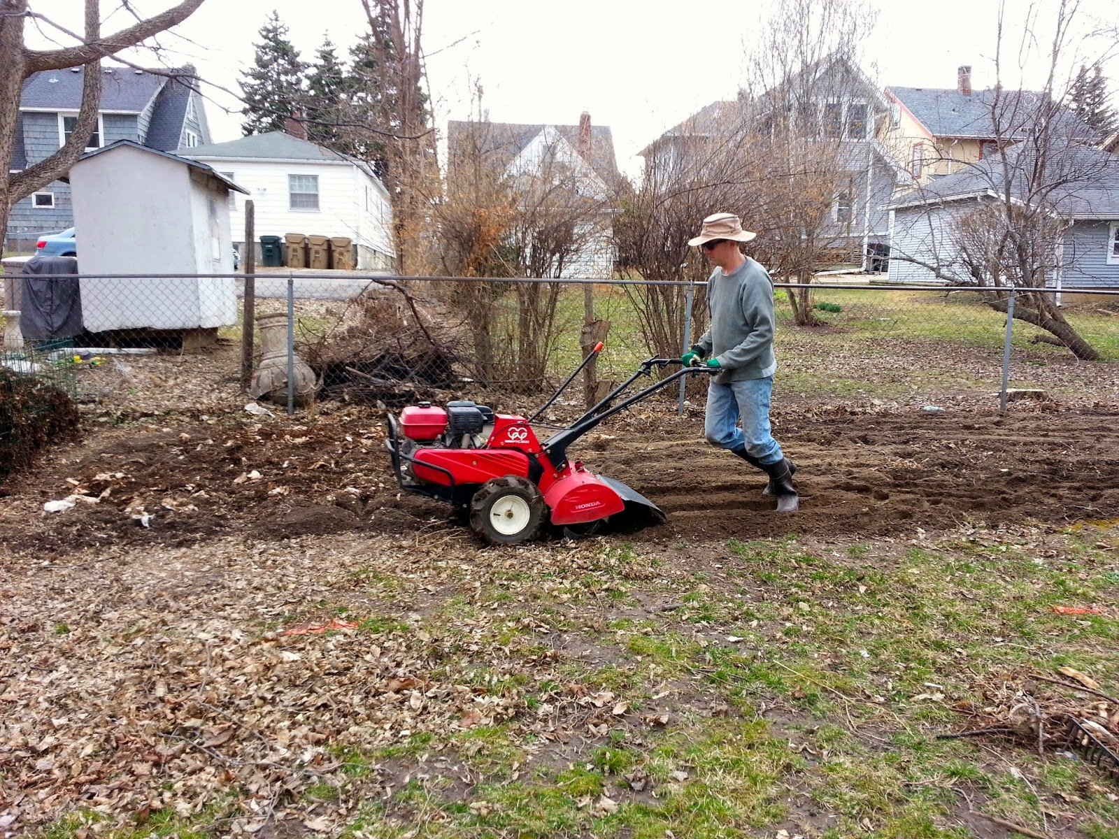 Rototill garden garden ftempo for Garden state orthopedics fair lawn