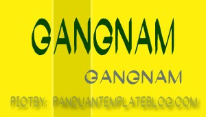 Font Gratis Untuk Design - Gangnam