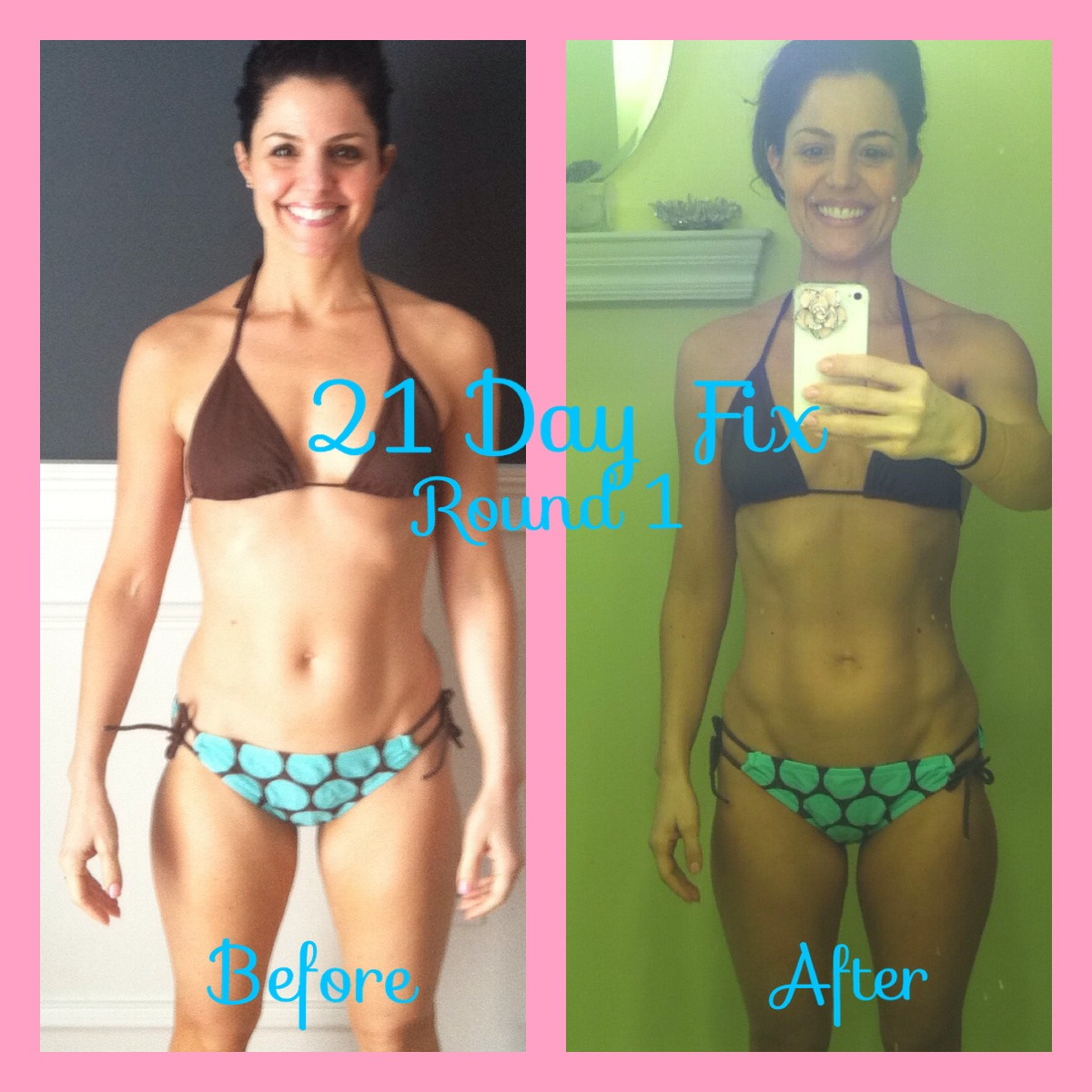 My 21 Day Fix Before & After