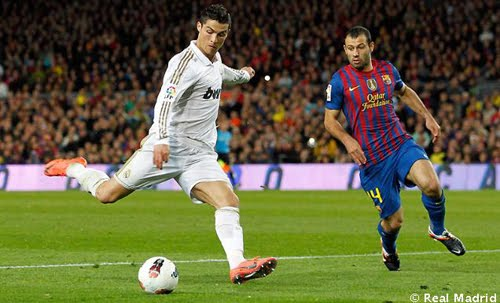 gol de Critiano Ronaldo al Barcelona