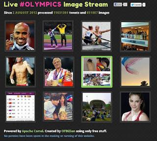 Live #Olympics Image Stream