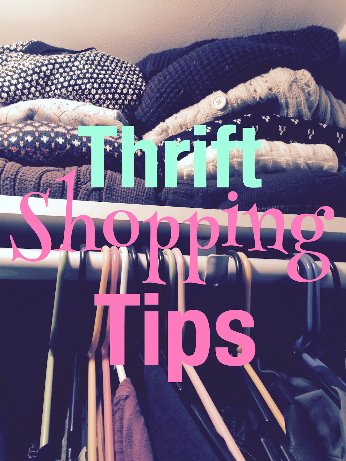 Thrift shopping tips