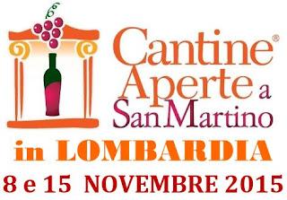 Cantine Aperte a San Martino 15 novembre Lombardia 2015