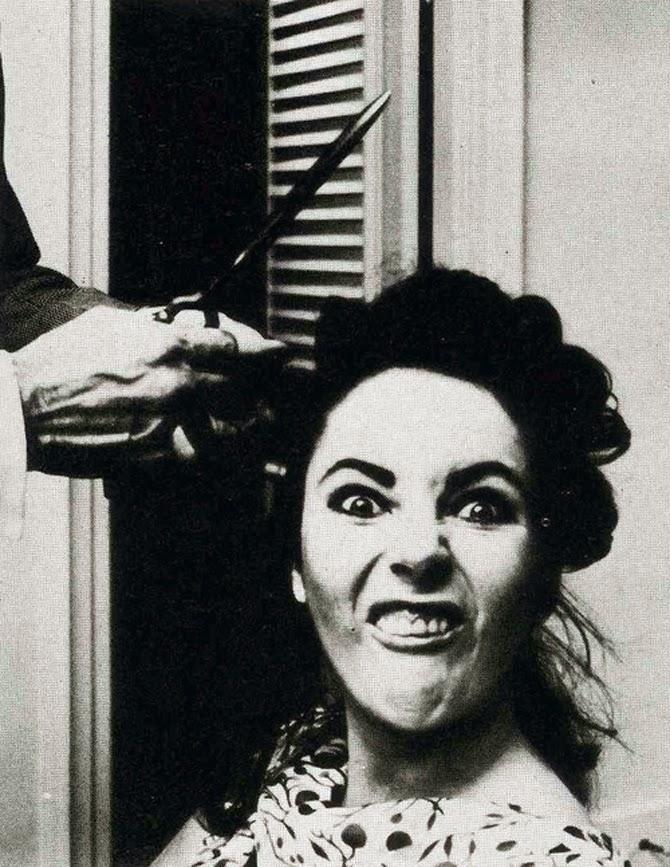 hair Elizabeth taylor