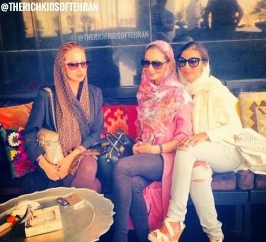 Saksikan Gaya Hidup Mewah Anak Orang Kaya Tehran