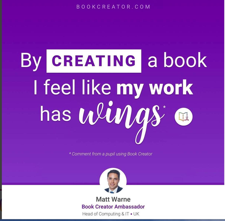Book Creator Ambassador