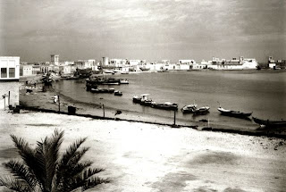 Dubai's beach in March (1958) old and rare photos