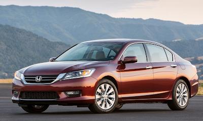 2013 Honda Accord sedan red