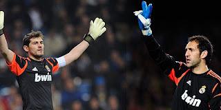 Disputa por la portería del Real Madrid entre Iker Casillas y Diego López.