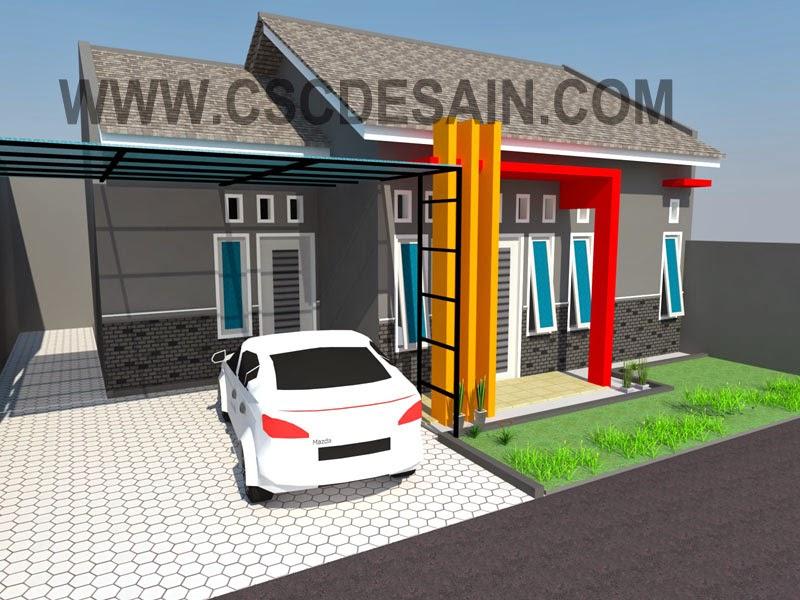 desain rumah type 45 - 60
