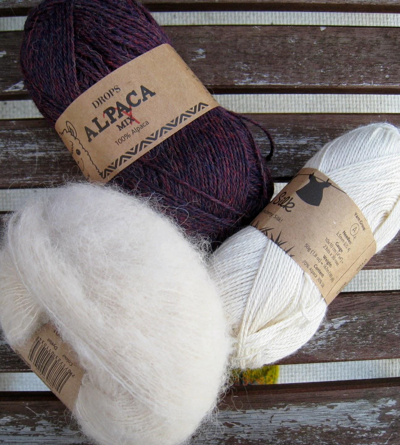 brushed alpaca silk farvekort