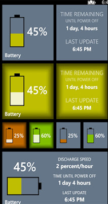 battery windows phone
