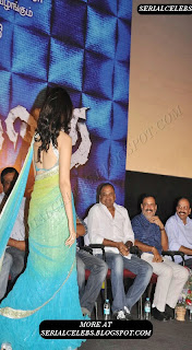 Tamanna in low hip saree and backless blouse
