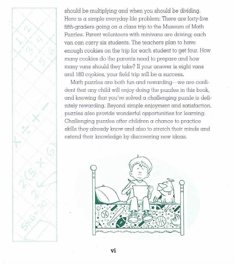 The Everything Kids Math Puzzles Book Part III INTRODUCTION PART