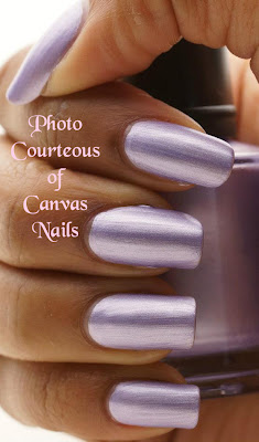 Canvas Nails Lovely Lavender Nail Polish