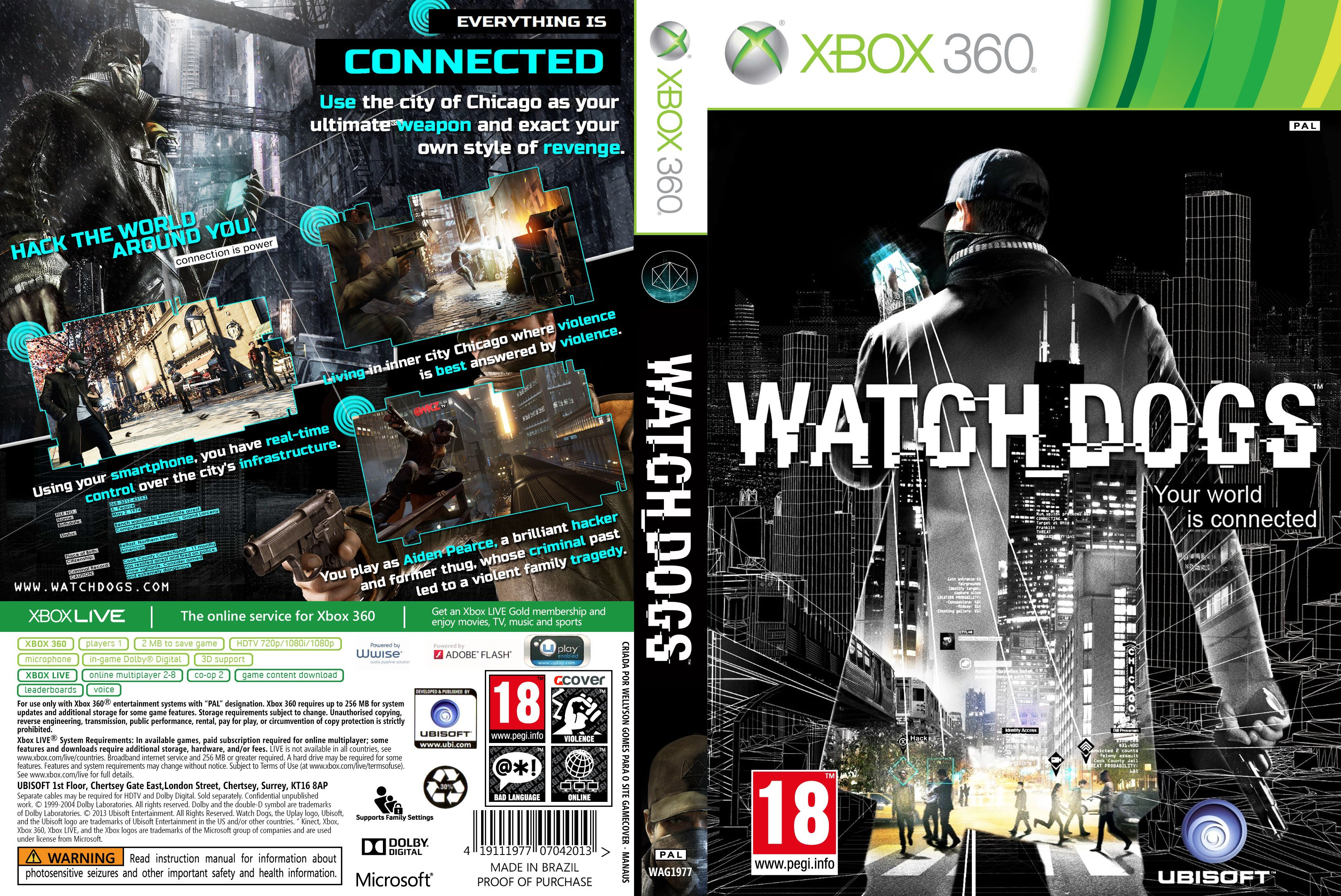 Watch Dogs  Pc Disc