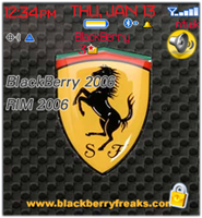 ferrari8800c Ferrari for Blackberry 8100 theme