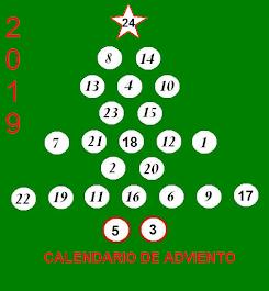 Calendario Adviento 2019