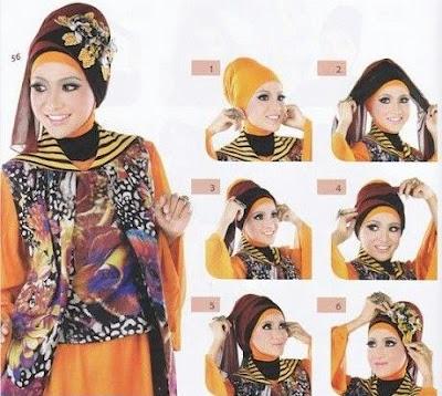 Cara Memakai Hijab Pashmina Terbaru Untuk Pesta
