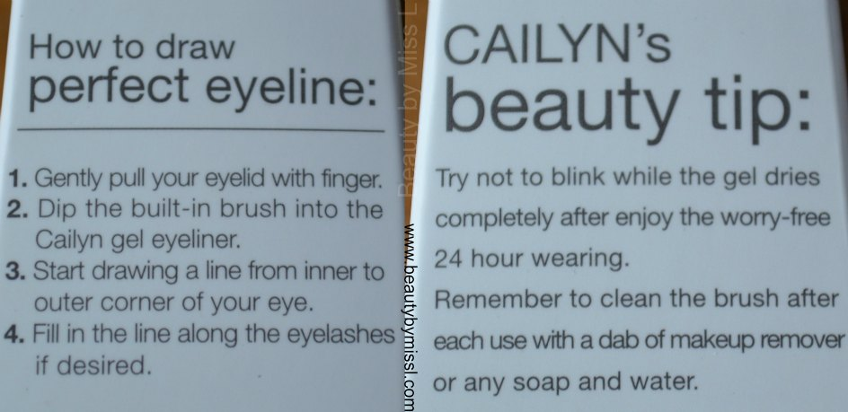 Cailyn Line-Fix Gel Eyeliner tips