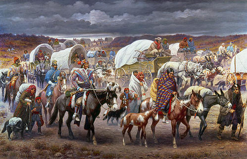 an argument in favor of the trail of tears The events surrounding the trail of tears are some of the most tragic in the history of the united states government's treatment of the native american people.
