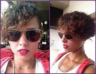 Alicia Keys New Short Haircut