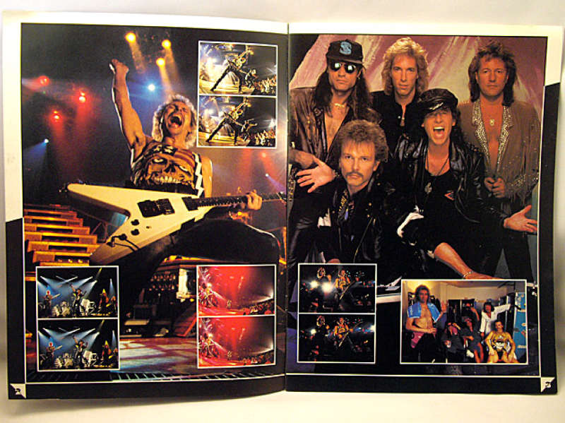 Scorpions Crazy World Tour 1991