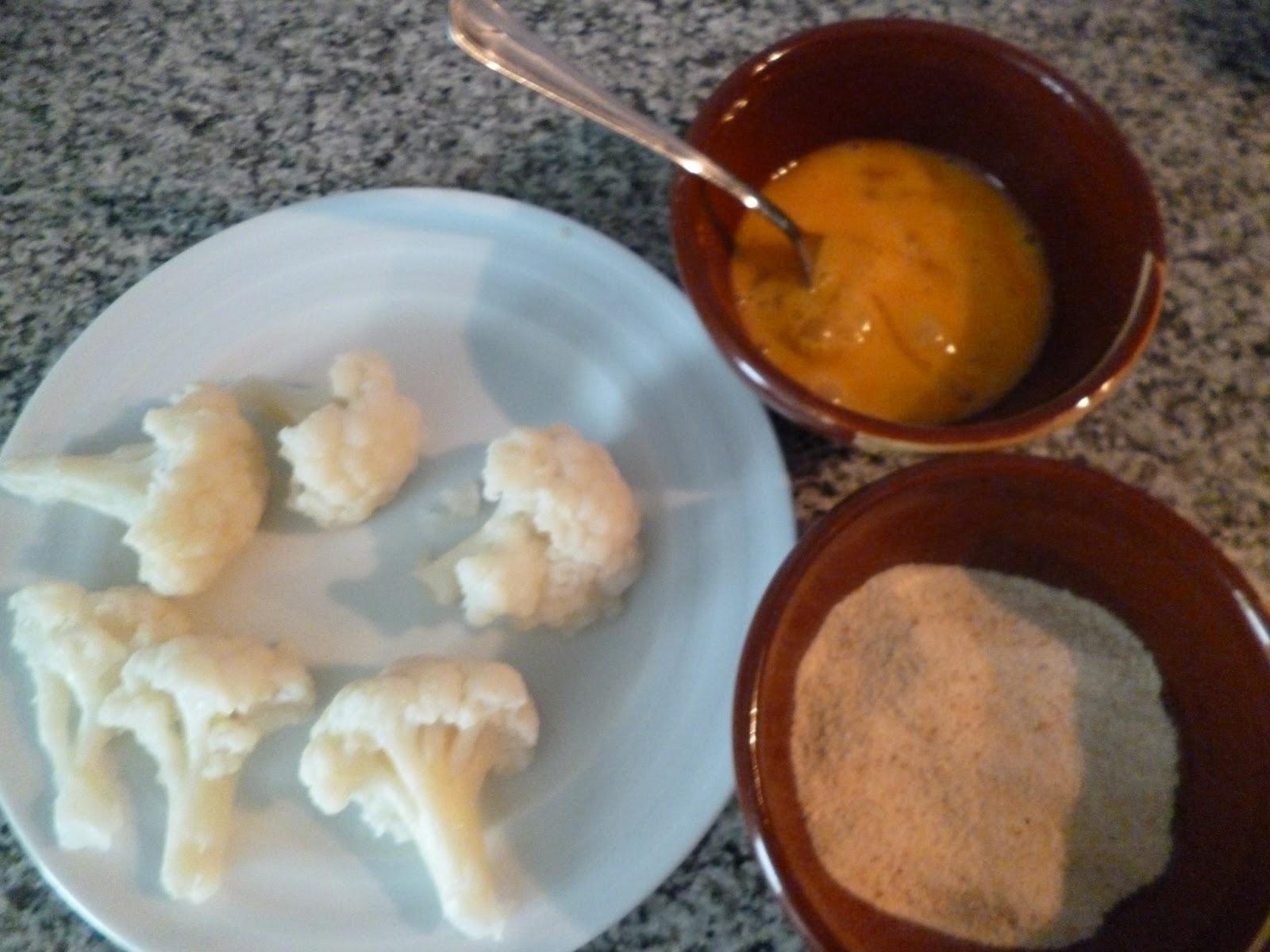 Cocina y reposteria con arkaitz y leire coliflor rebozada for Cocina y reposteria