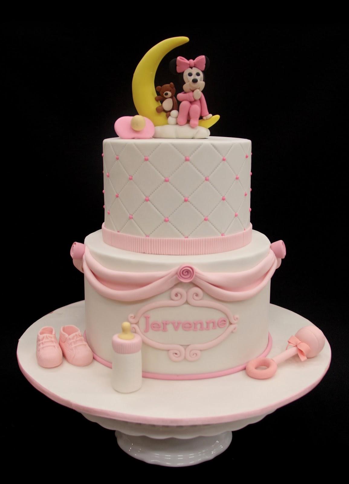 Penang Wedding Cakes by Leesin: Baby Minnie Baby Cake