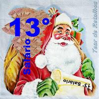 Décimo terceiro Salário (13°), gratificação ou bonificação natalina.