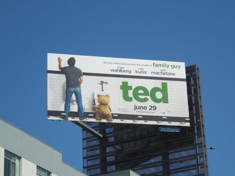 Ted movie billboard