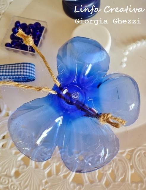 Бабочка из пластиковых бутылок для детского сада