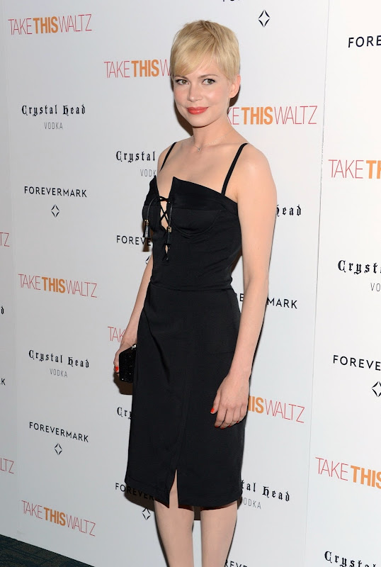 Michelle Williams at Take This Waltz red carpet in New York