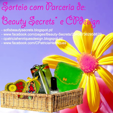 Sorteio internacional CP Design e Beauty Secrets *