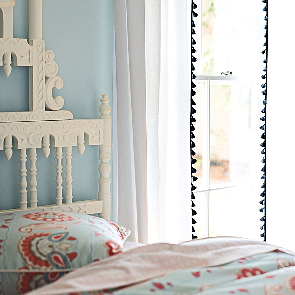 The Look For Less: Serena And Lily French Tassel Curtains