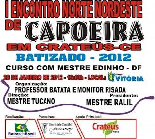 Encontro de capoeira do Ceará mobiliza capoeiristas de Teresina