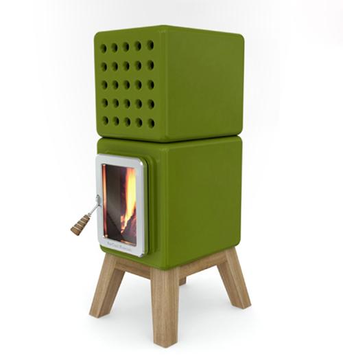 Best Fireplace Design Ideas Ceramic Round Cube Wood