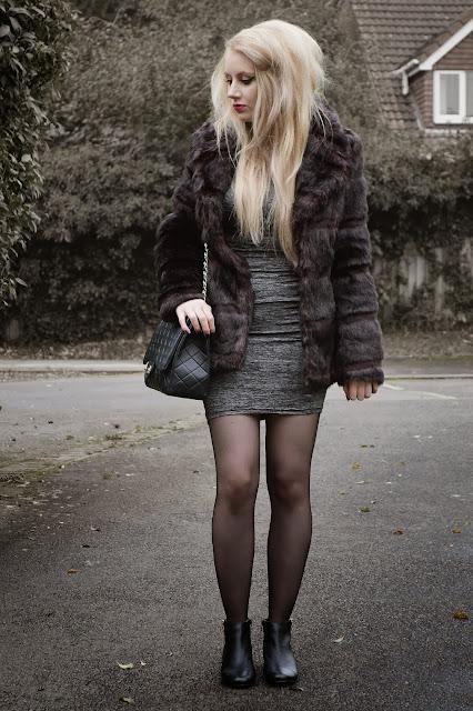 Sammi Jackson - Faux Fur + Studded Boots