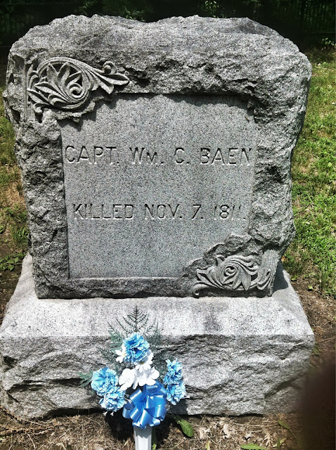 Tippecanoe battle grave
