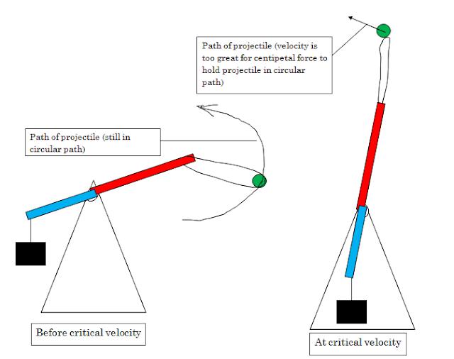 surviving ib physics  trebuchets