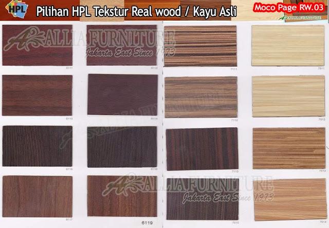RW.03 HPL moco motif tekstur kayu asli