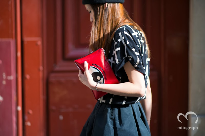mitograph Tracey Cheng After Isabel Marant Paris Fashion Week 2014 Spring Summer PFW Street Style Shimpei Mito