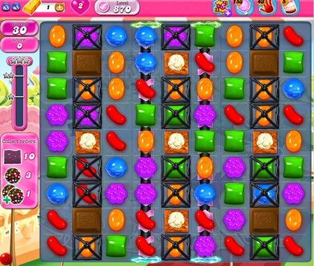 Candy Crush Saga 870
