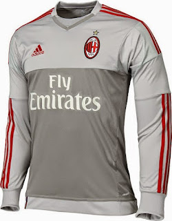 jual online dan gambar photo Jersey keeper Ac Milan musim depan 2015/2016