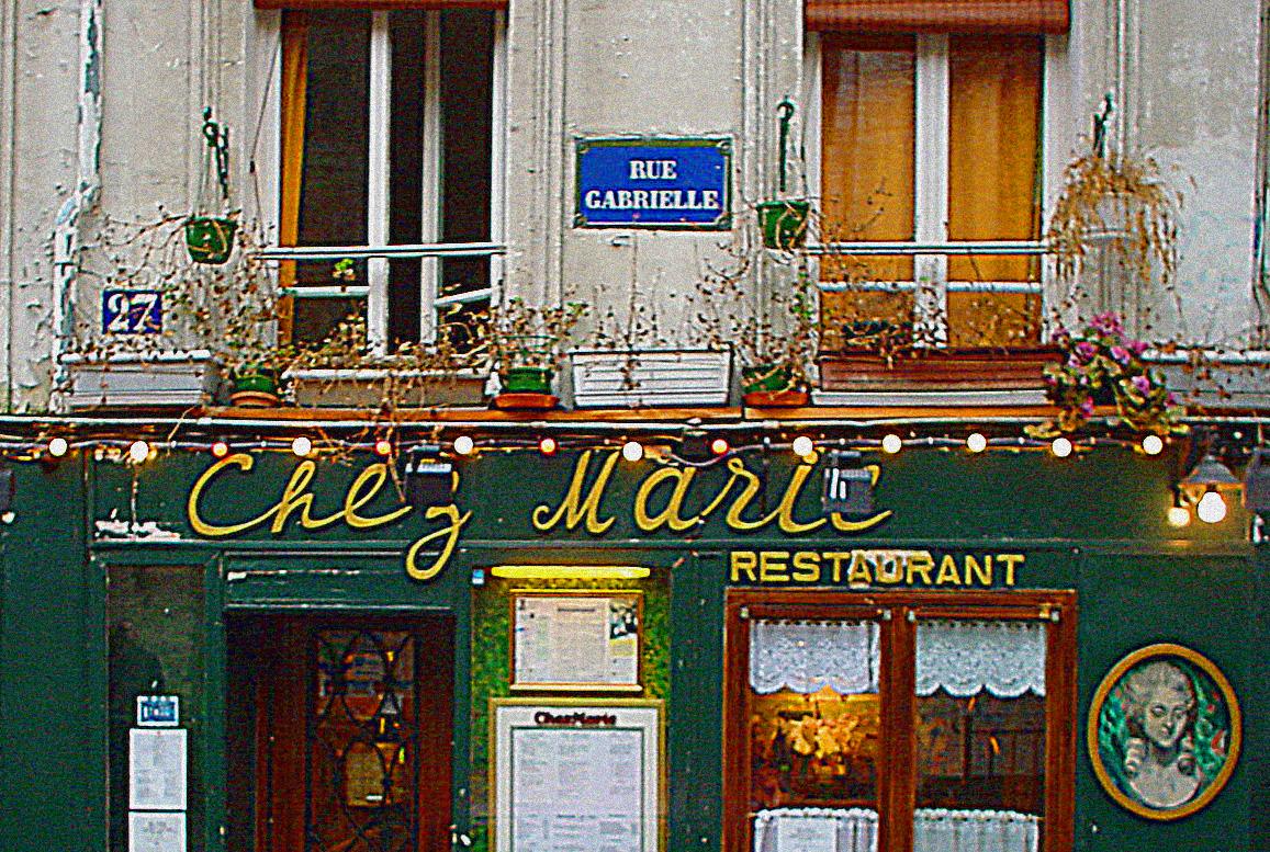 Fifi flowers chez marie transformations for Restaurant chez marie marseille