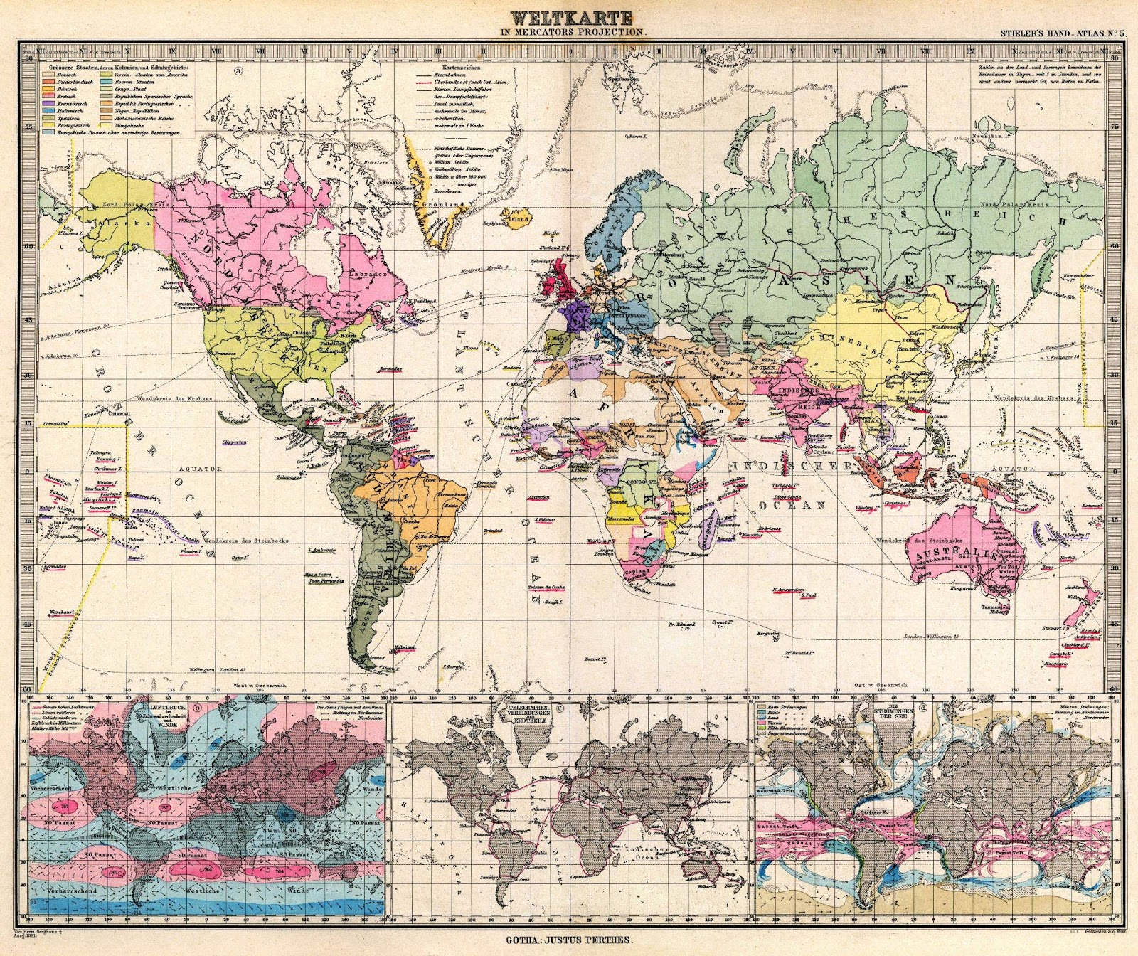 Ancient world maps world map 19th century world map 19th century gumiabroncs Choice Image